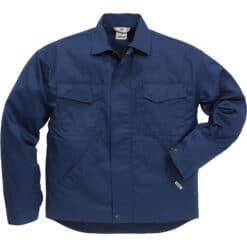Jacheta de lucru bleumarin cu fermoar 480 P154