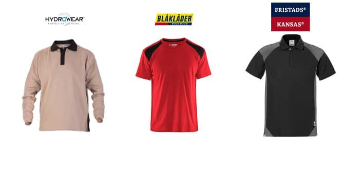 Tricouri polo de lucru si bluze de lucru