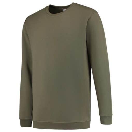 Bluza verde militar cu maneca lunga 301008